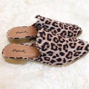 NWT Qupid cheetah slips